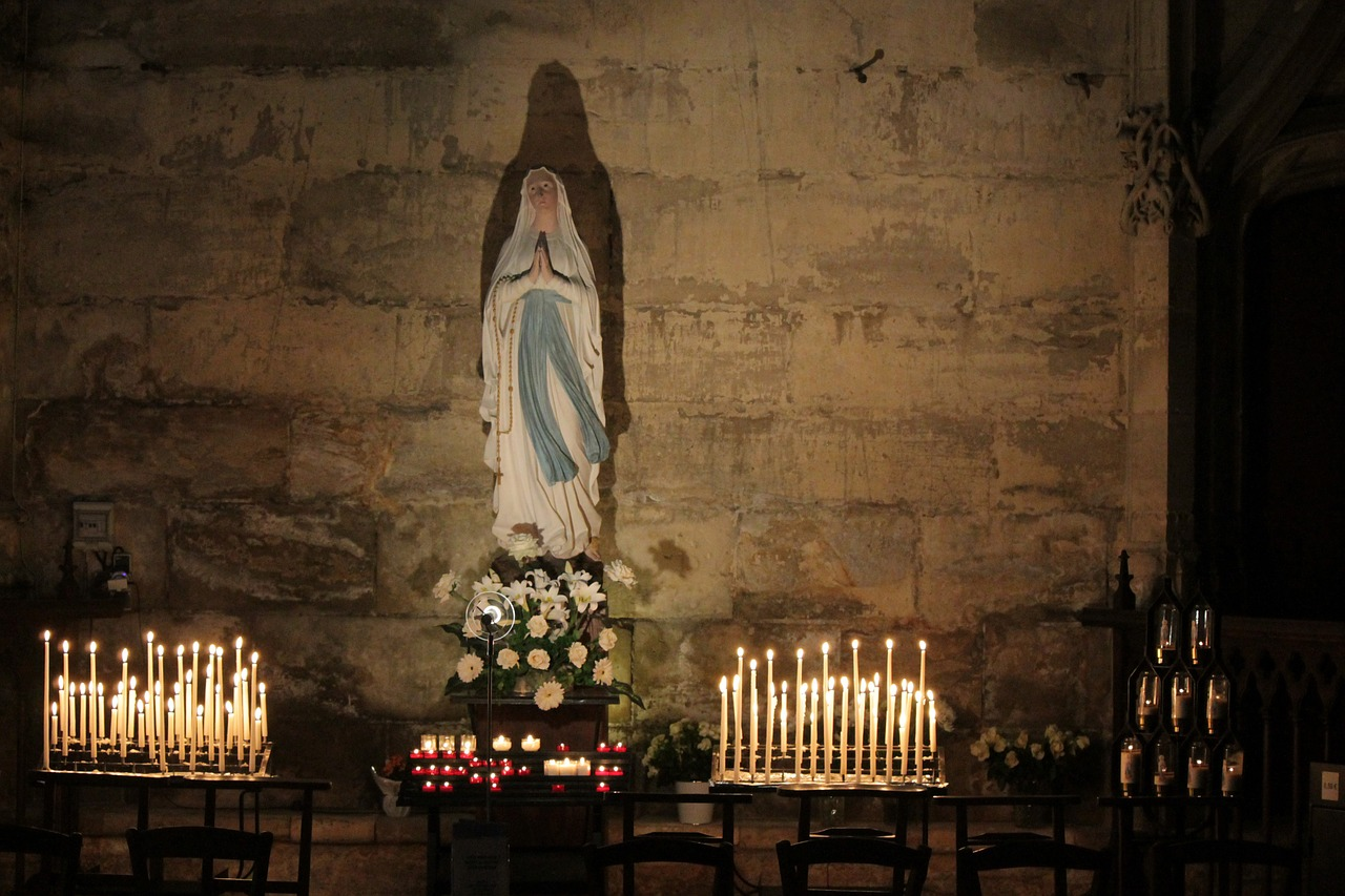 štovanje Marija i svetaca
