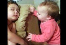 Dječak je spavao, a 8-mjesečna sestra ga je odlučila probuditi