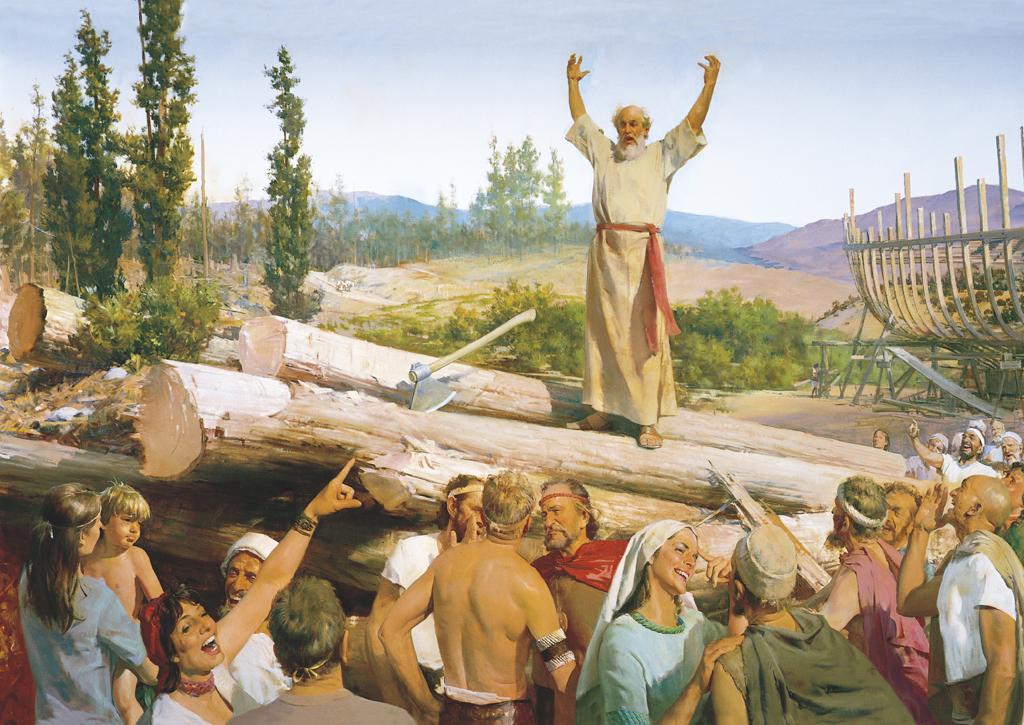 Noa nije čekao kišu da bi počeo graditi arku