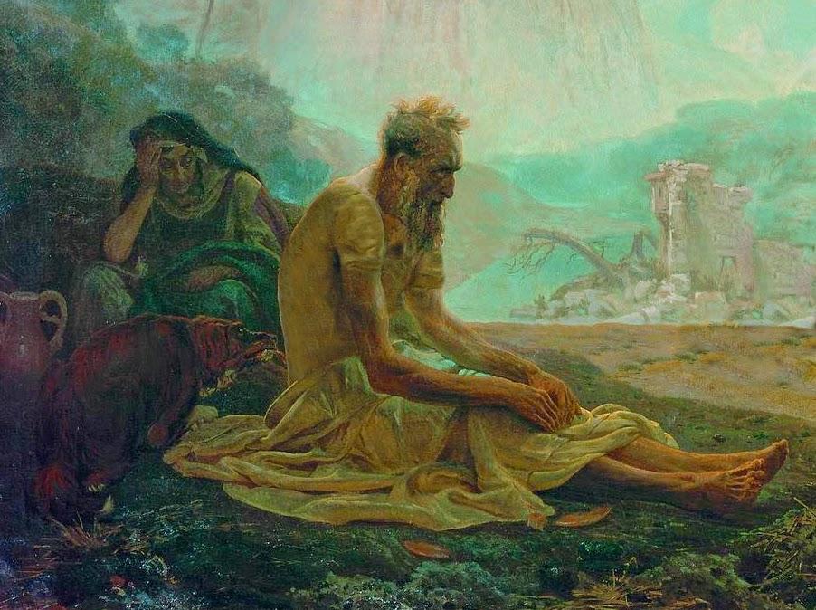 Zašto je Jobu njegova žena rekla da prokune Boga i umre