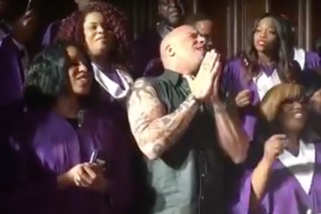 gospel zbor ispunio pjevački san glumcu VInu Dieselu