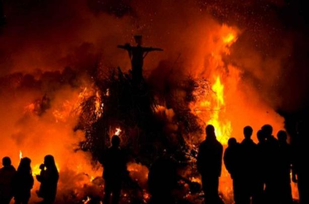 kršćanski bračni par spaljen