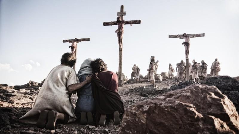 natpis iznad Isusove glave na križu