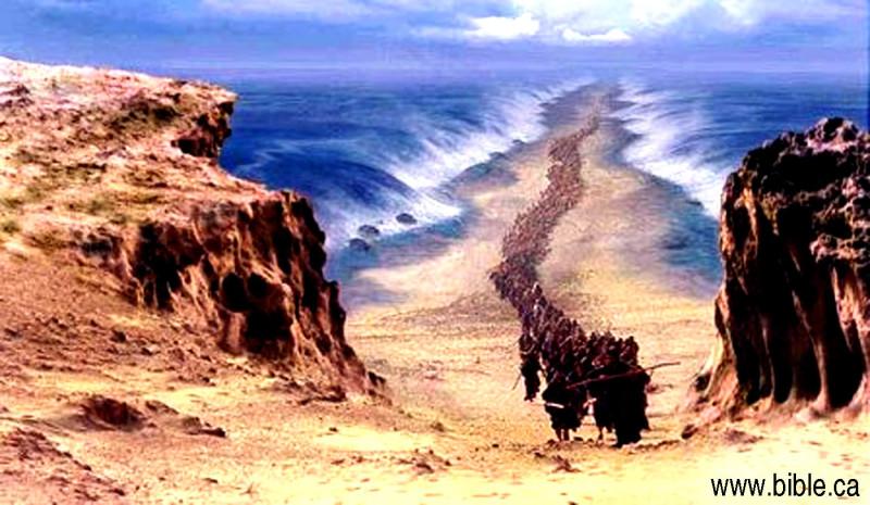 prelazak preko crvenog mora