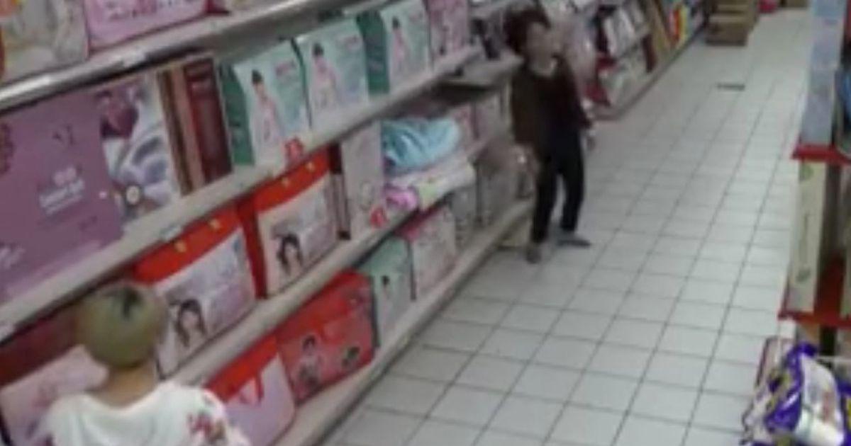 sotona opsjeo ženu u supermarketu