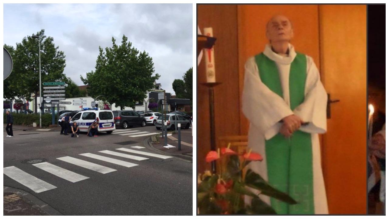islamisti upali u katoličku crkvu i prerezali grlo katoličkom svećeniku