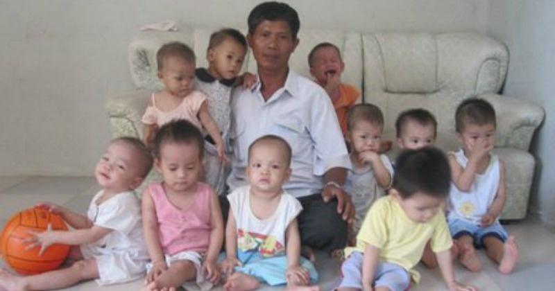 posvojio 100 djece koje su majke htjele abortirati