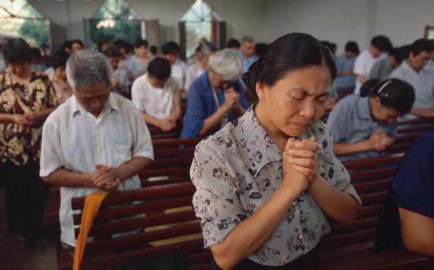 kršćani u Kini