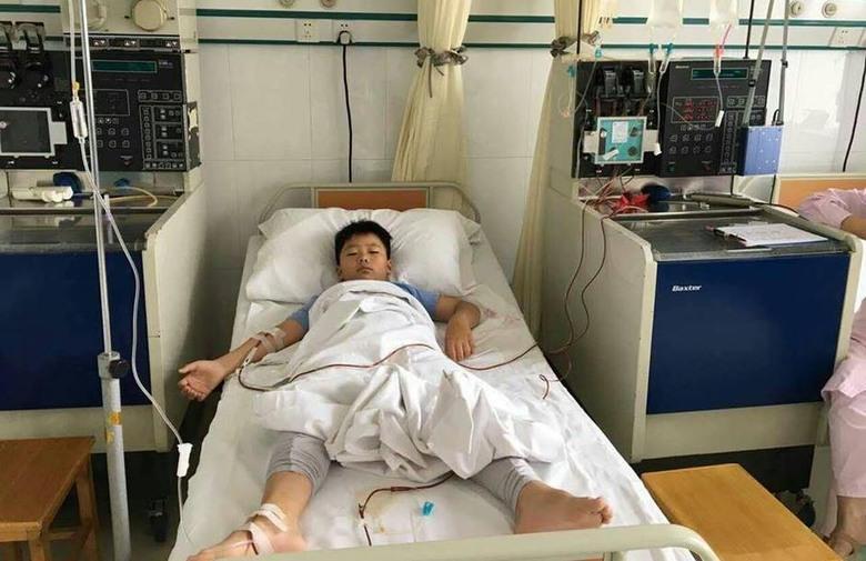 Dječak udeblja 10 kilograma kako bi svome ocu donirao koštanu srž