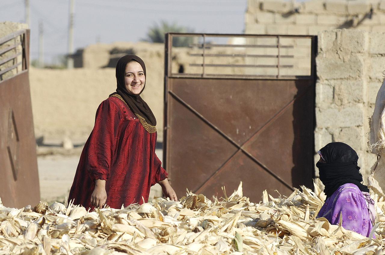 Kršćanka iz Iraka