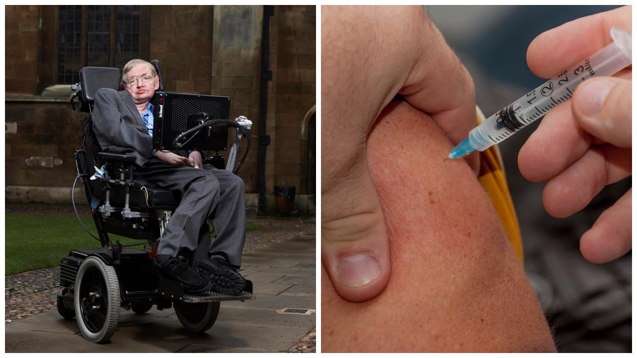 Stephen Hawking cijepljenje
