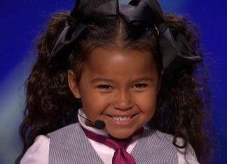 5-godišnja djevojčica u trenu osvojila žiri, a onda izjavila da Isus živi u njoj