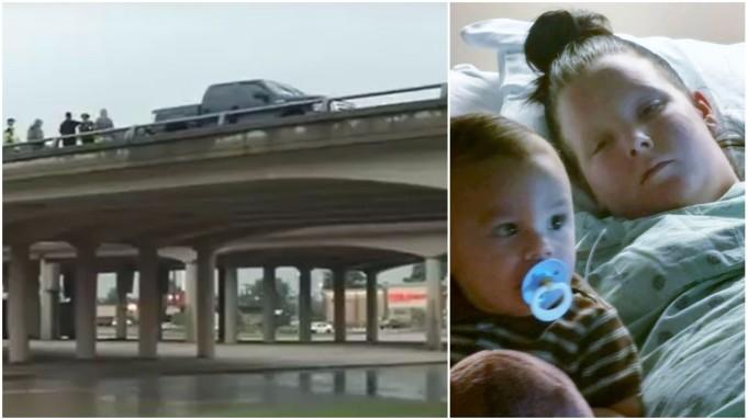 Dijete je padalo s 9 metara visokog mosta