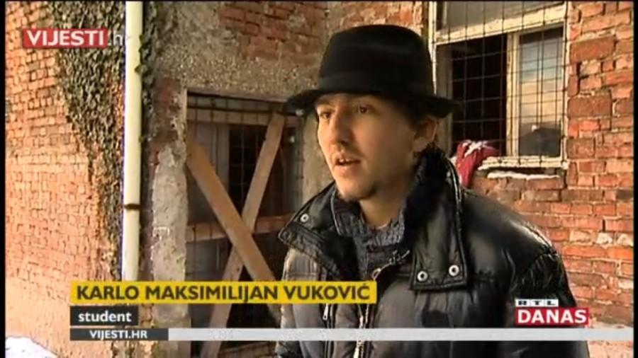 beskućnik iz Zagreba