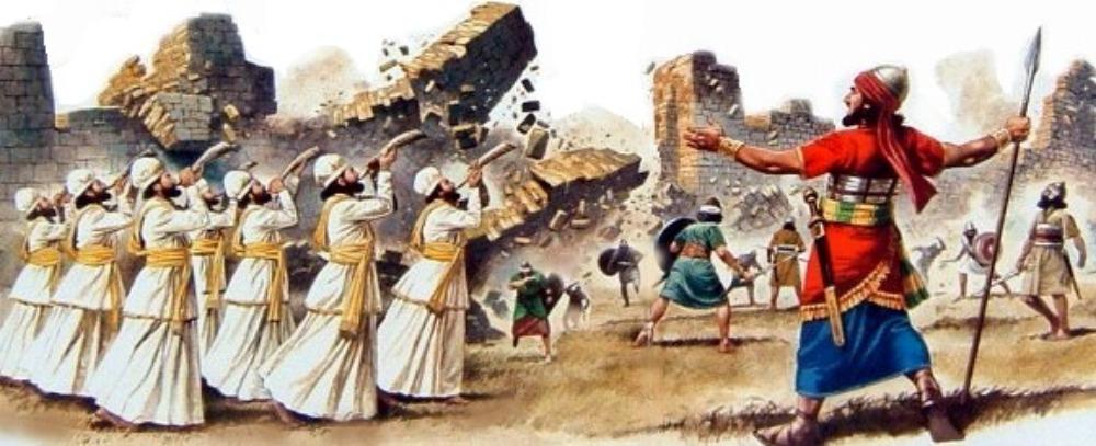 Jerihonske zidine dokazi