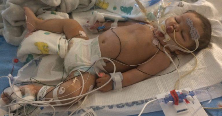 beba zastoj srca