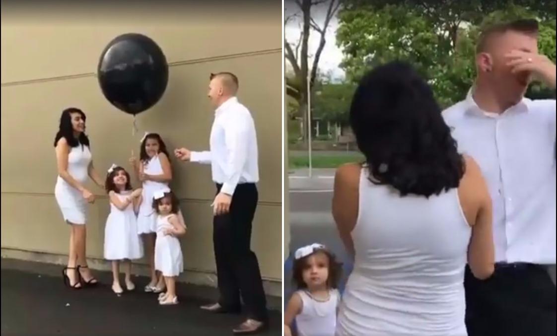 otac tri kćerke iznenađenje (1)