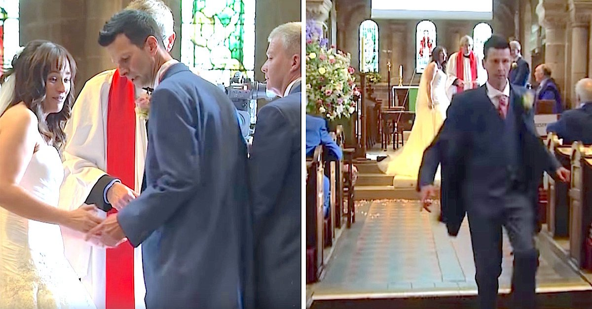 mladoženja ostavio mladu pred oltarom