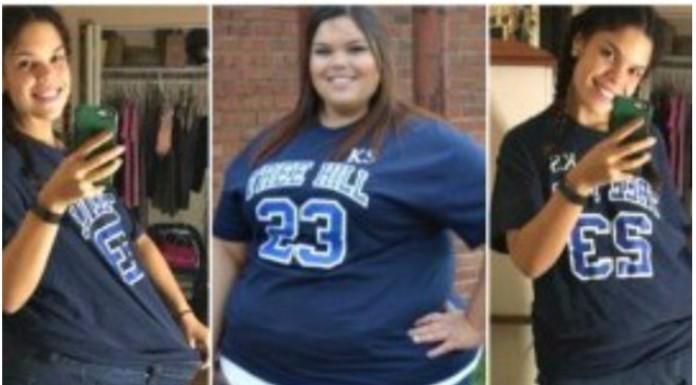 djevojka izgubila 88 kilograma