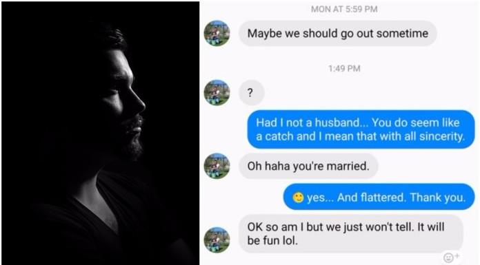 oženjeni muškarac poruka