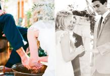 pranje nogu vjenčanje
