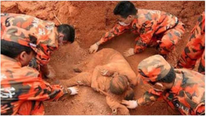 Pronašli ženu zakopanu u zemlji