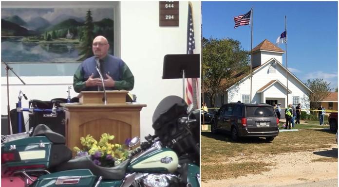 propovijed teksas ubojstvo crkva
