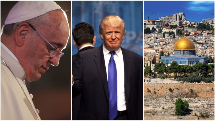 Papa Trump Jeruzalem