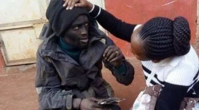 žena narkoman na ulici