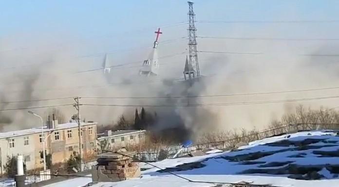 kinezi dinamitom raznijeli crkvu