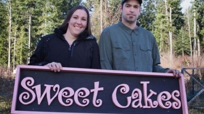 kršćanska slastičarnica lezbijski par torta