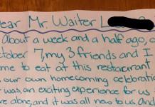 konobar napojnica pismo