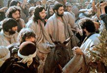 Isus ušao u Jeruzalem na magarcu