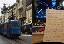 vozačica tramvaja čokolada s pismom