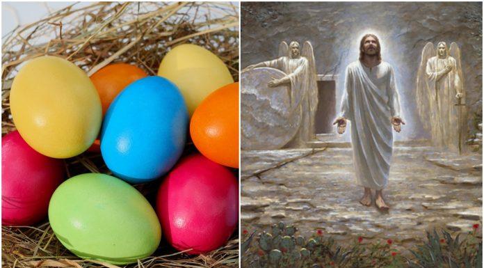 Uskrs nisu zečevi, jaja, bogata trpeza