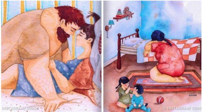 obiteljske ilustracije istinska ljubav