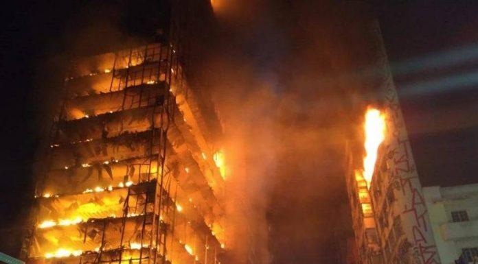 Sao Paolo požar neboder