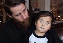 djevojčica sa srebrnim očima