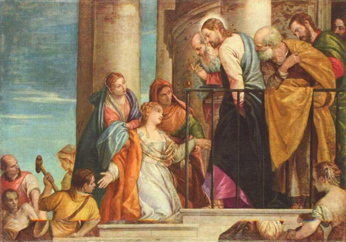 žena koja je dotakla Isusa