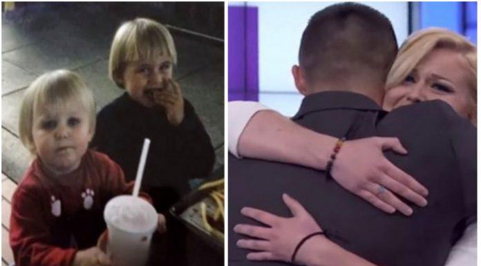 Brat i sestra se nakon 18 godina razdvojenosti ponovno susreli