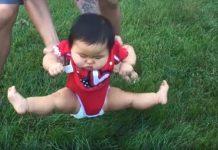 video bebe trava