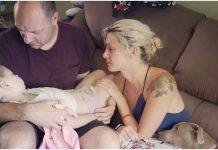 Fotografija djevojčica roditelji umire tumor na mozgu