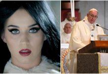 Katy Perry Papa Franjo