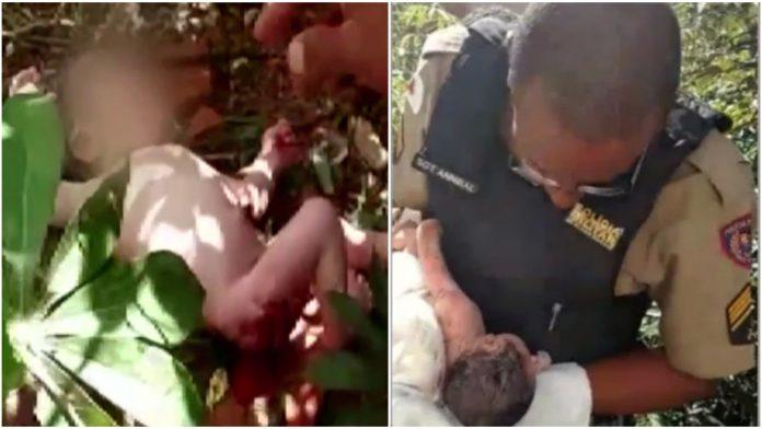 policajac u smeću zatekao dijete
