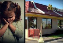 Žena je u toaletu McDonald'sa naišla na prestavljenu djevojčicu
