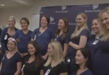 16 medicinskih sestara u bolnici zatrudnjelo u isto vrijeme