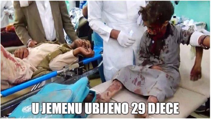 29 djece poginulo u napadu u Jemenu