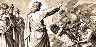 Isus istjerivao demone