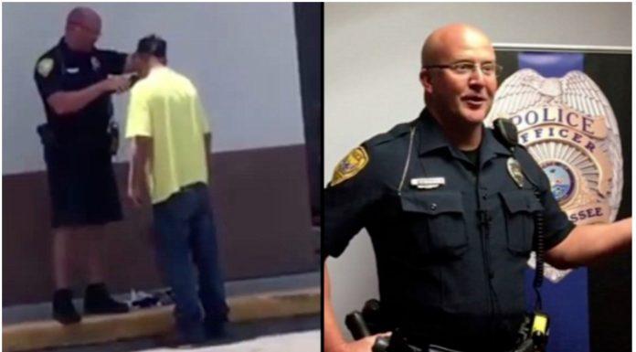 Policajac obrijao beskućnika kako bi mogao dobiti posao