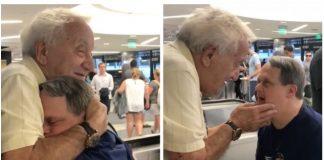 Sin s Downovim sindromom je ugledao oca na aerodromu, a ono što je uslijedilo će vam rastopiti srce